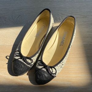 Chanel Ballet flat leather 35.5